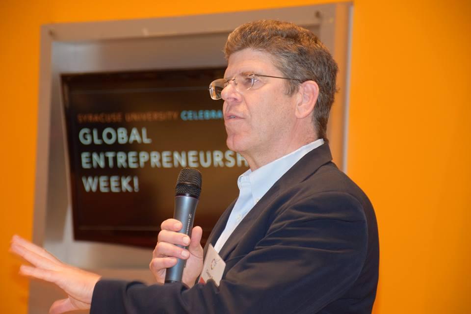 Clayton Besch at Funder's Forum