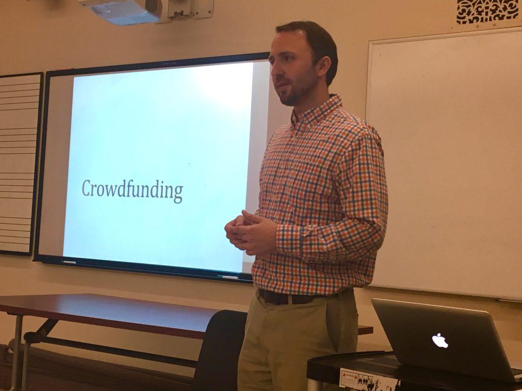 Crowdfuding workshop with Sam Krall