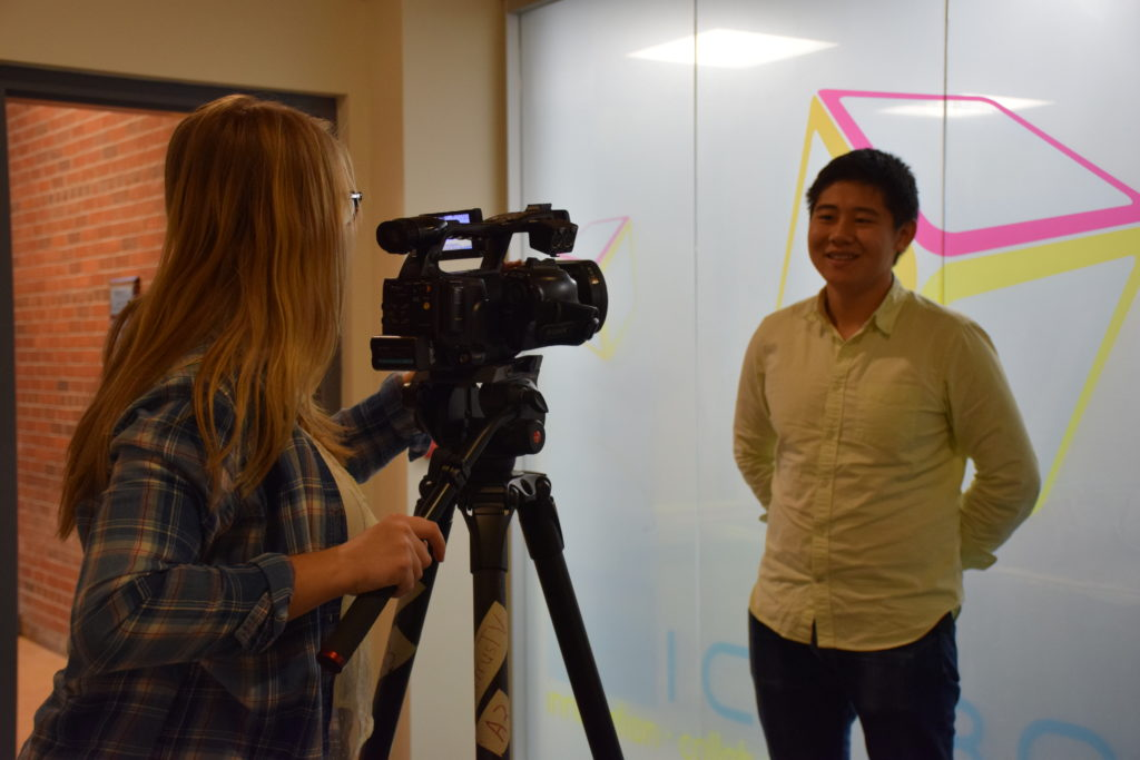 Savofair founder Lawrence Lin with Citrus TV