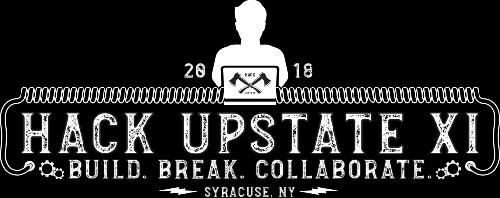Hack Upstate decorative graphic