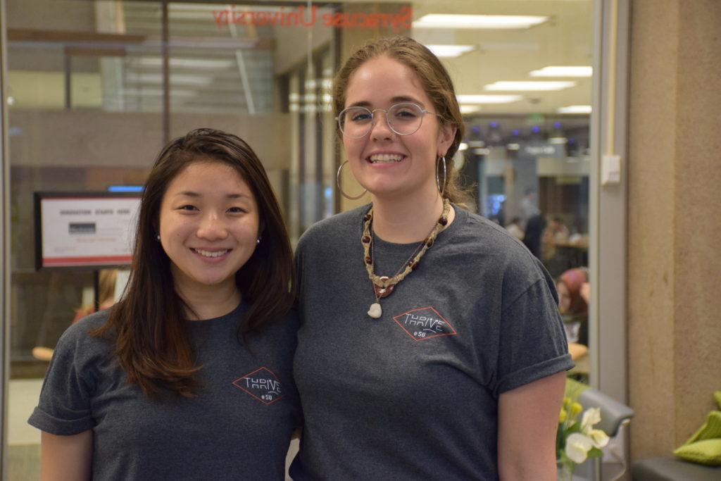Photo of Amanda Chou and Audrey Miller