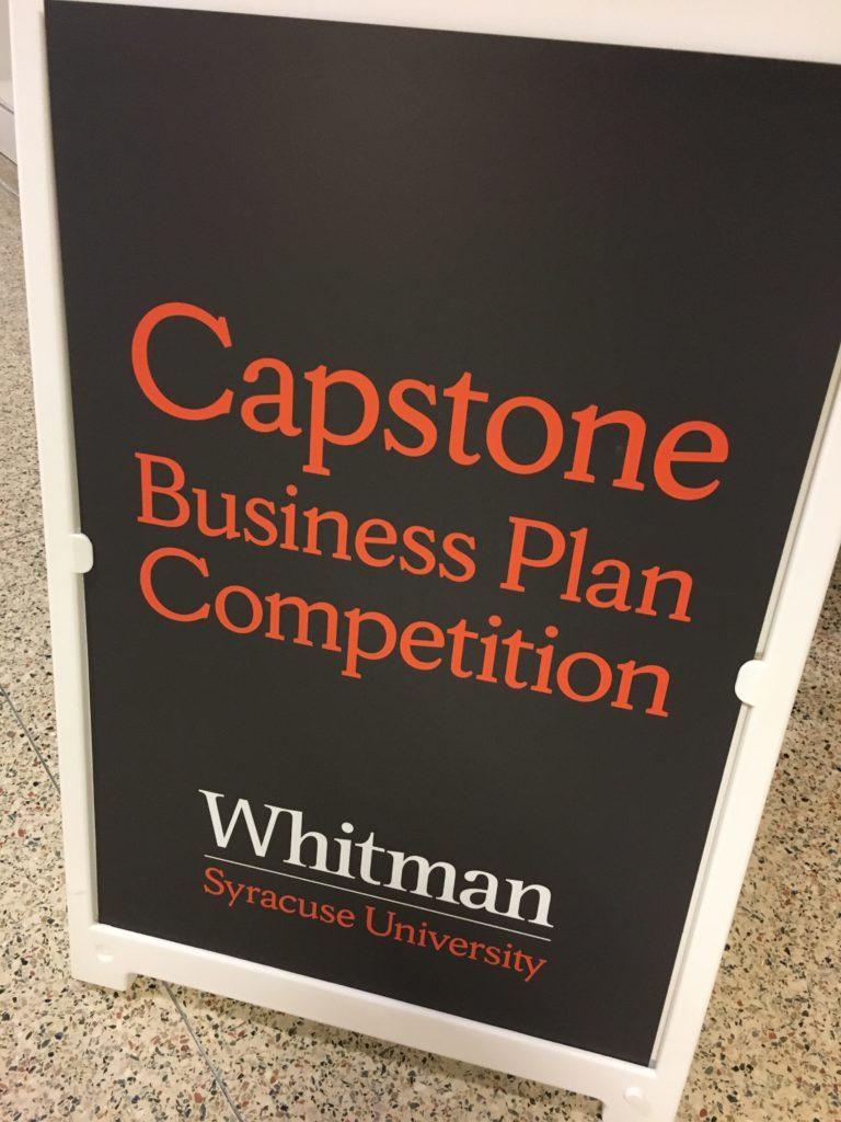 Photo of capstone sign