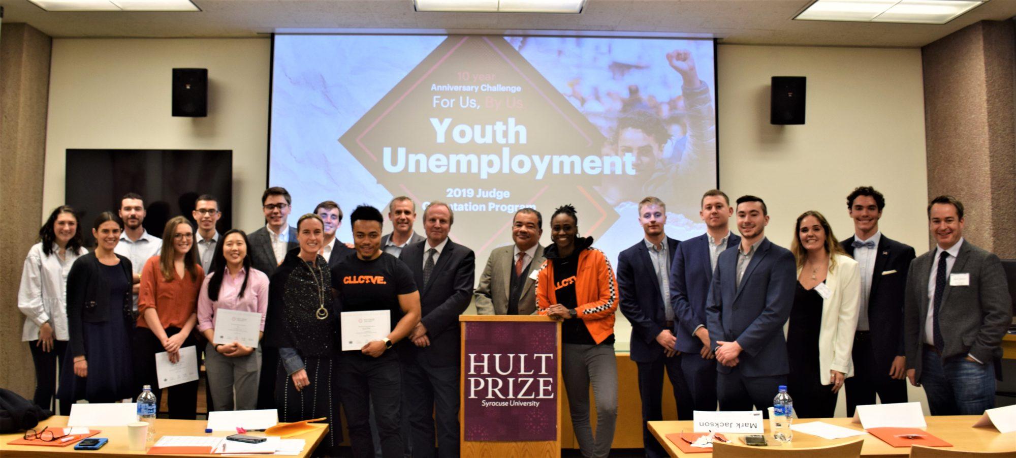Syracuse Hult Prize teams 2019