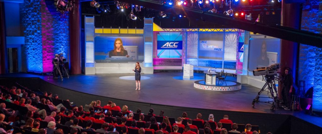 ACC InVenture Prize stage