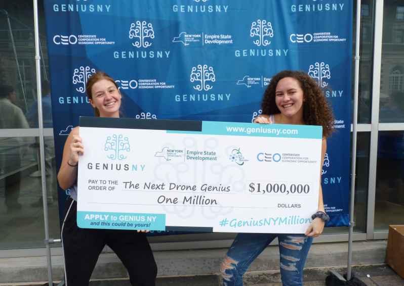GeniusNY award check