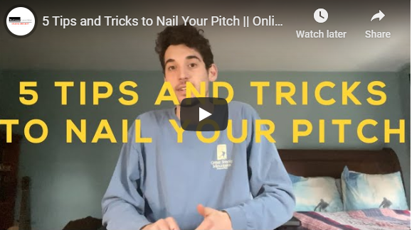 5 Tips and tricks to nail your pitch