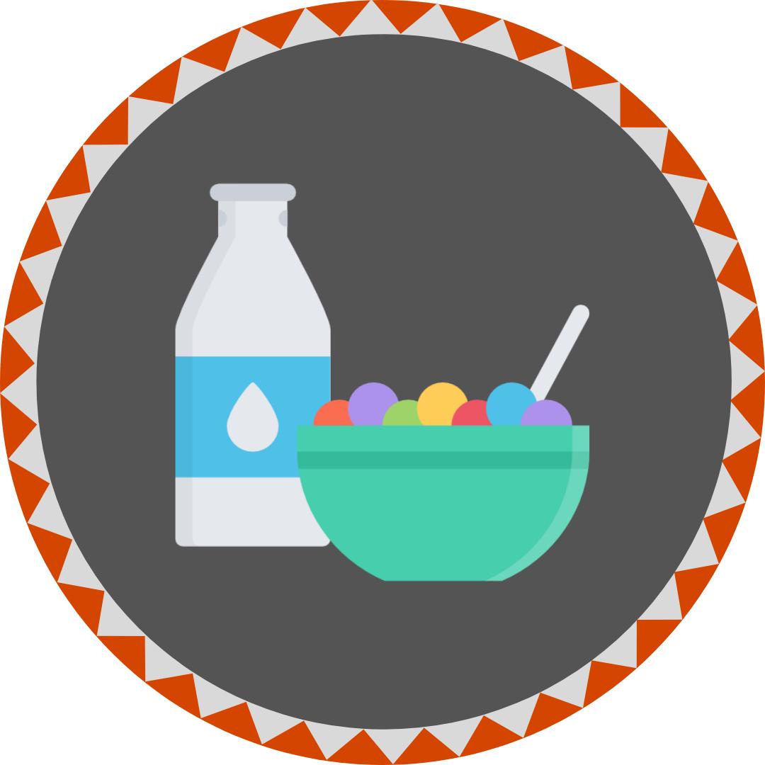 Cereal entrepreneur badge