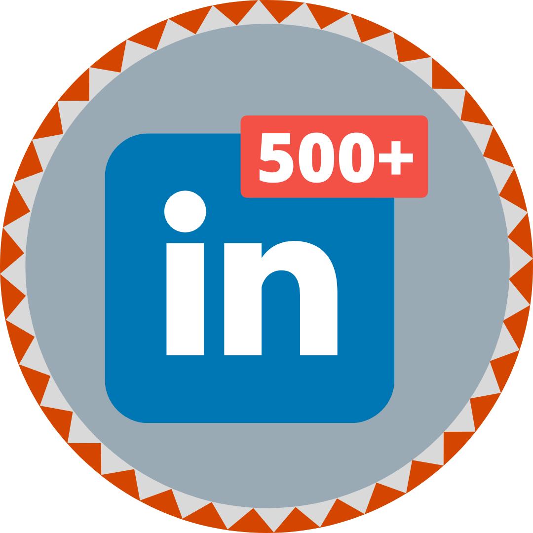 LinkedIn influencer badge