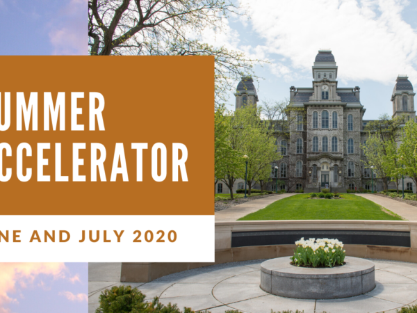 Applications still open for our first ever virtual summer accelerator