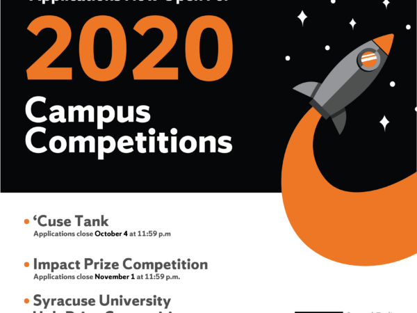 This week is the deadline to apply for fall competitions and a chance for up to $65,000 for your big idea