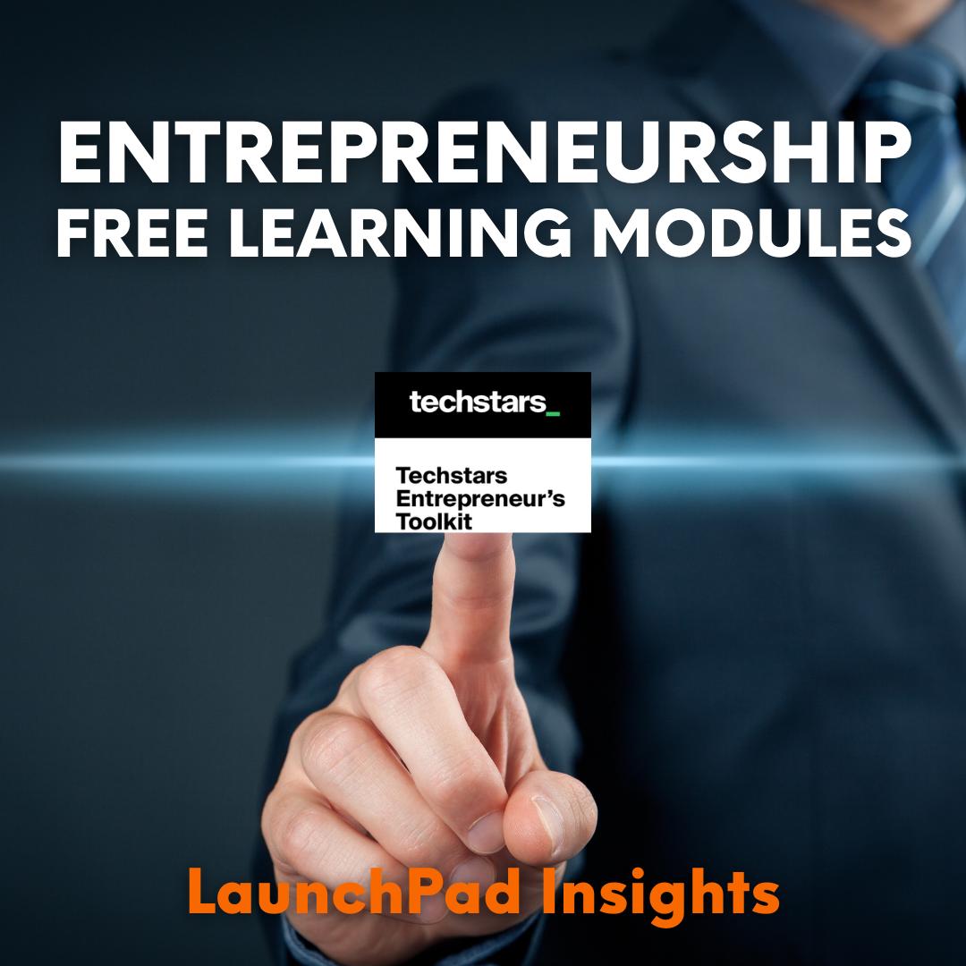 entrepreneurship free learning modules