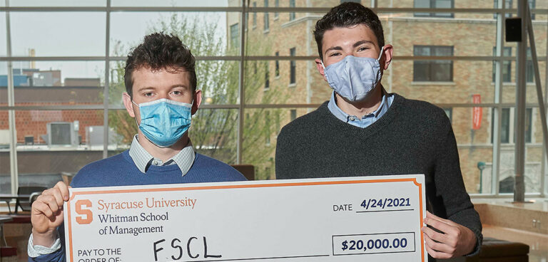 Student startups win Panasci Business Plan Competition