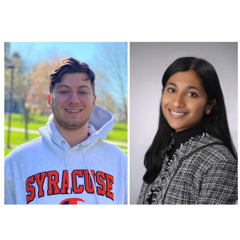 Selim Dangoor '23 and Sandhya Iyer '20 selected for prestigious Blackstone LaunchPad Fellowships
