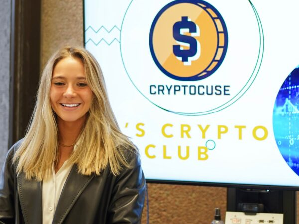 Catherine Forrest '22 is using blockchain to change the world